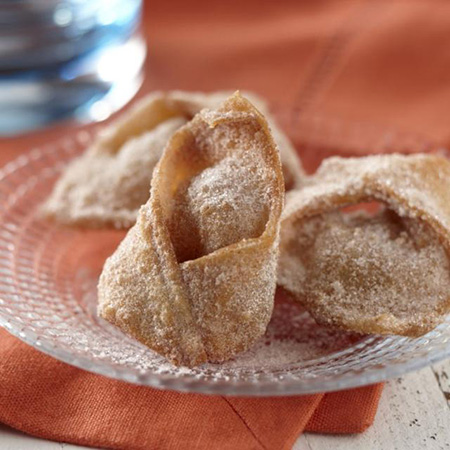 Cinnamon Apple Wontons