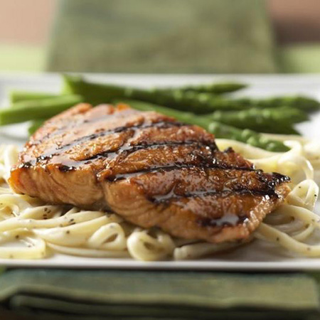 Cumin Glazed Grilled Salmon