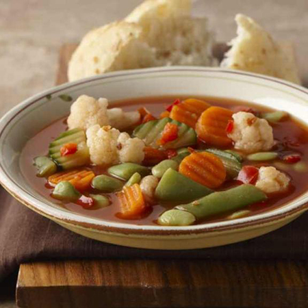 Zesty Vegetable Soup